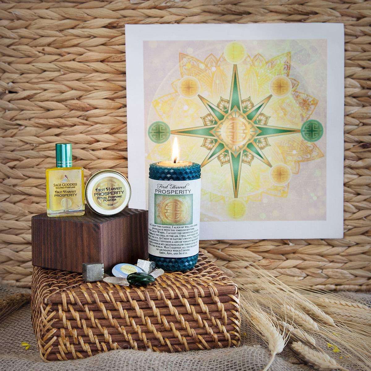 lammas ritual kit for prosperity