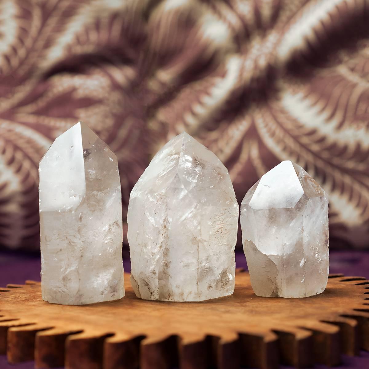 natural clear quartz generators