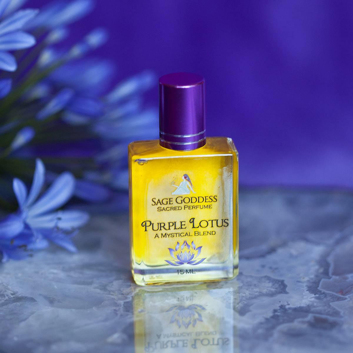 purple lotus perfume