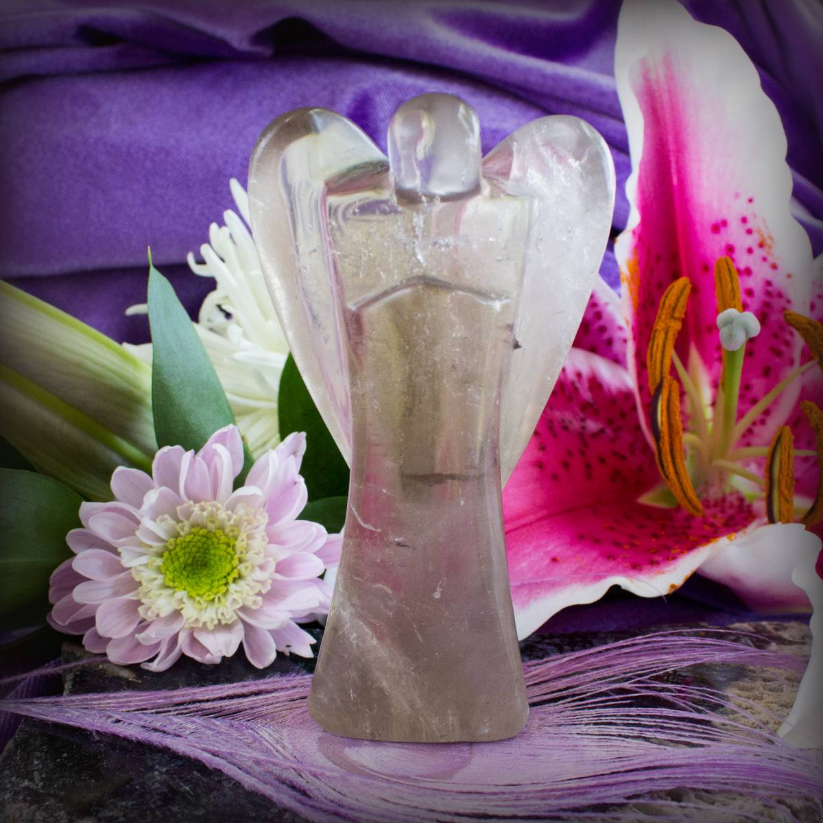 smoky quartz angels