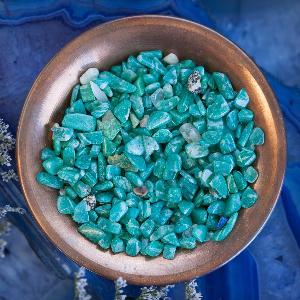 Amazonite chipstones