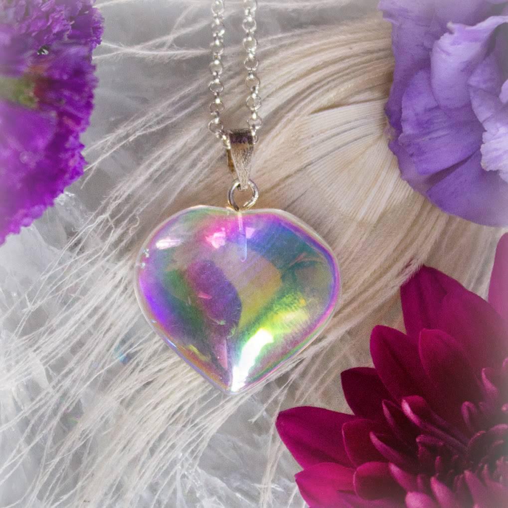 Angel Aura Heart Pendant