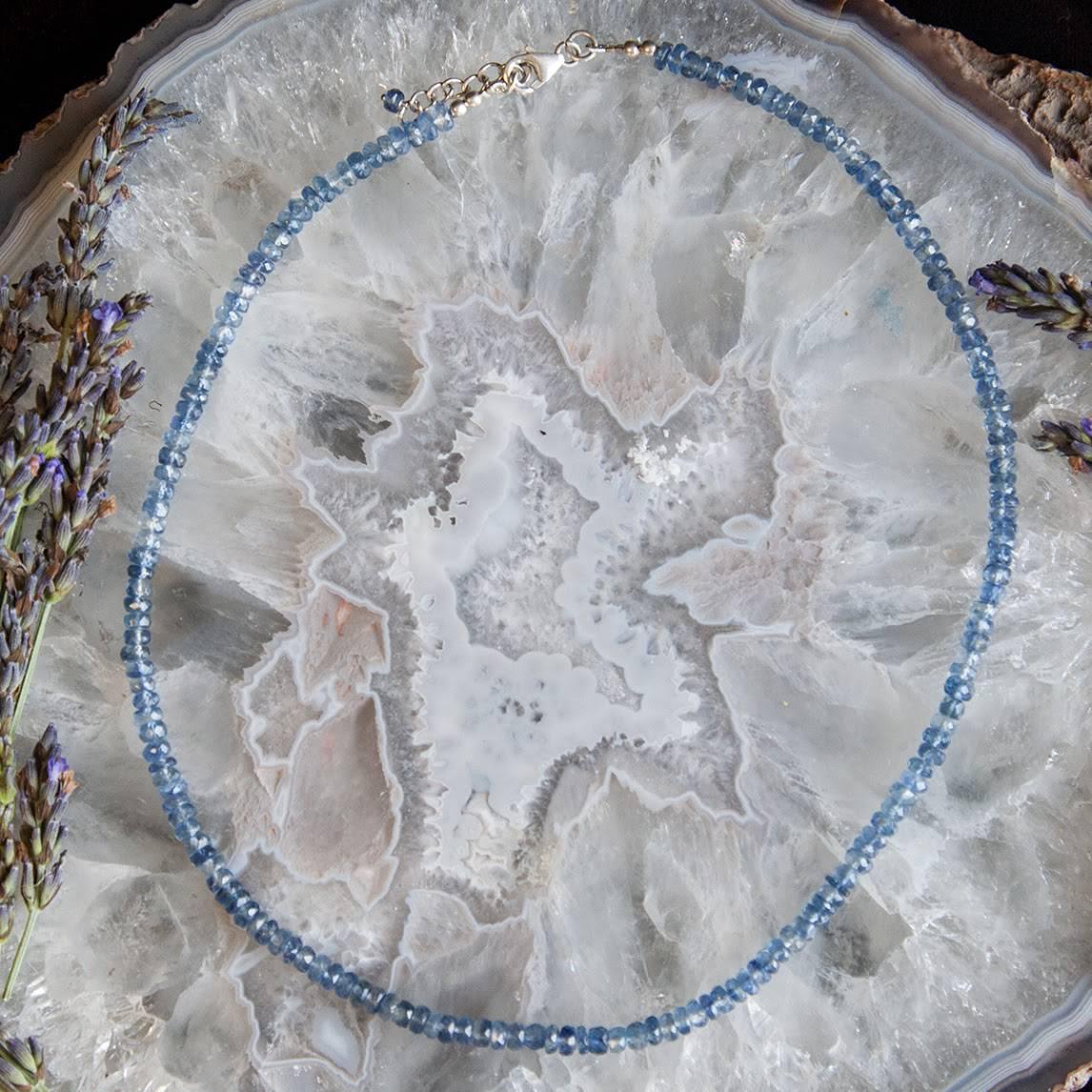 Blue Kyanite Necklaces