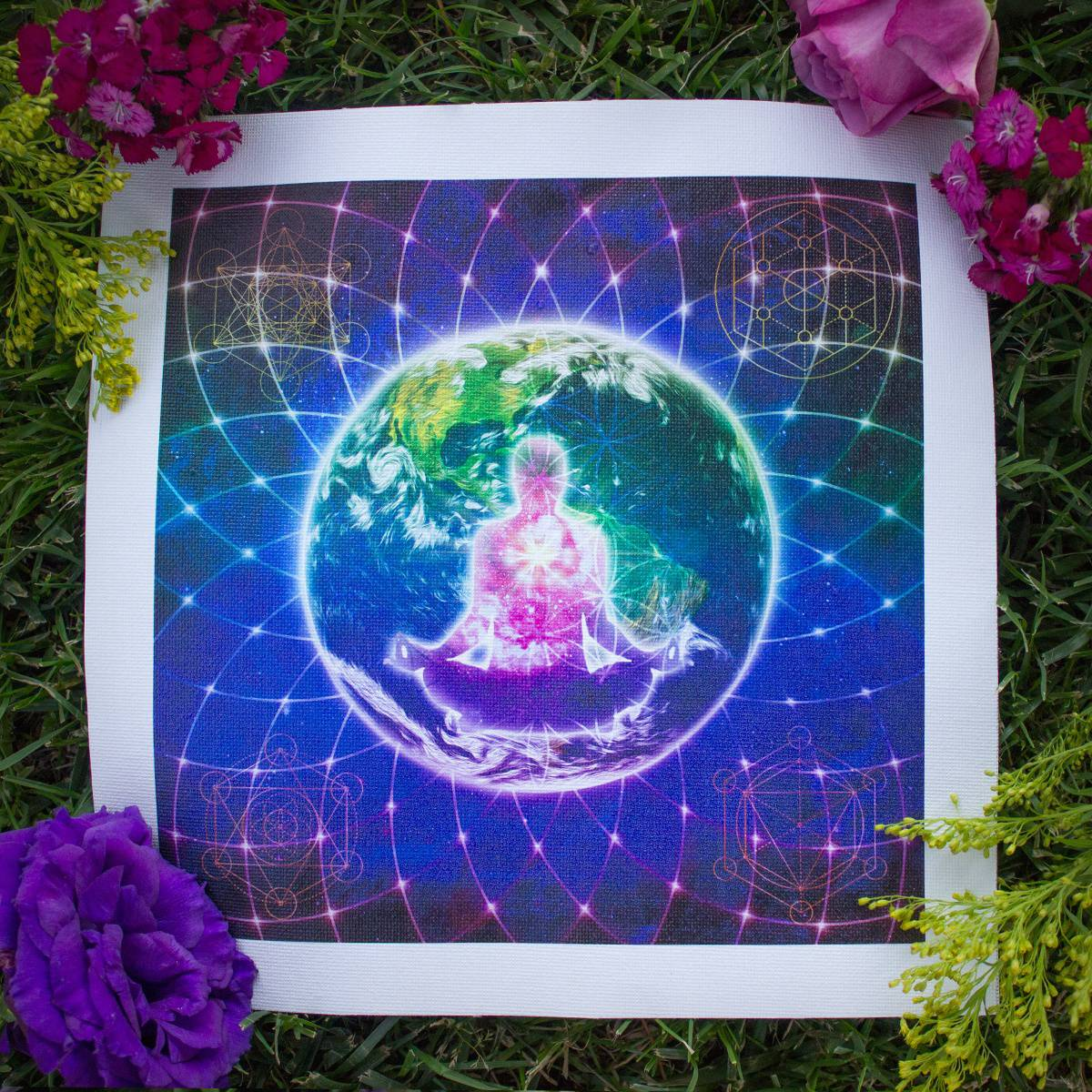 healing the planet canvas