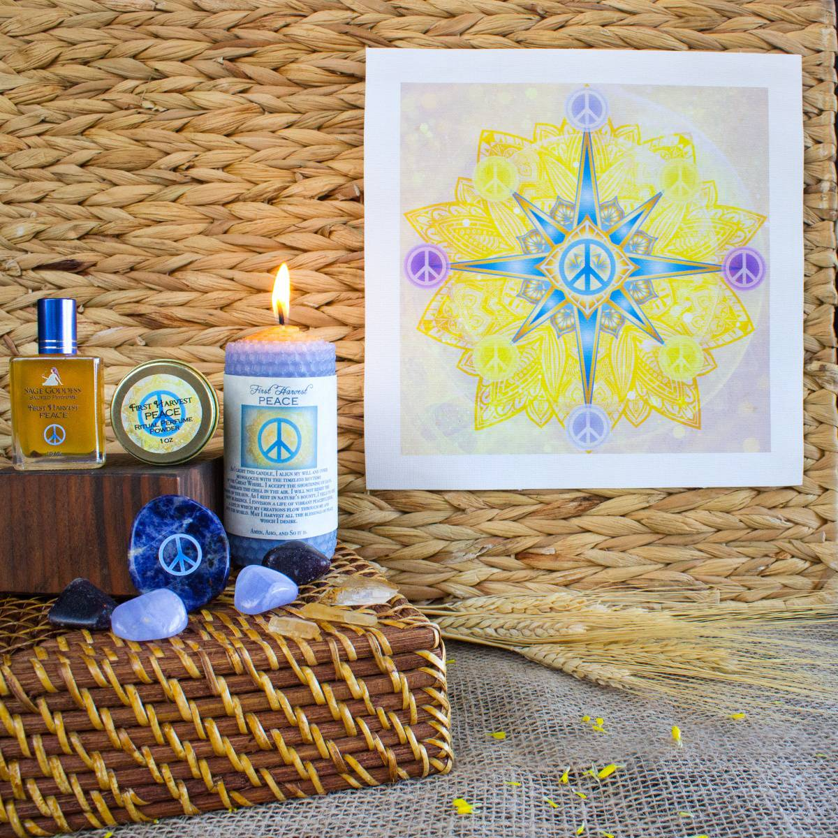 lammas ritual kit for peace