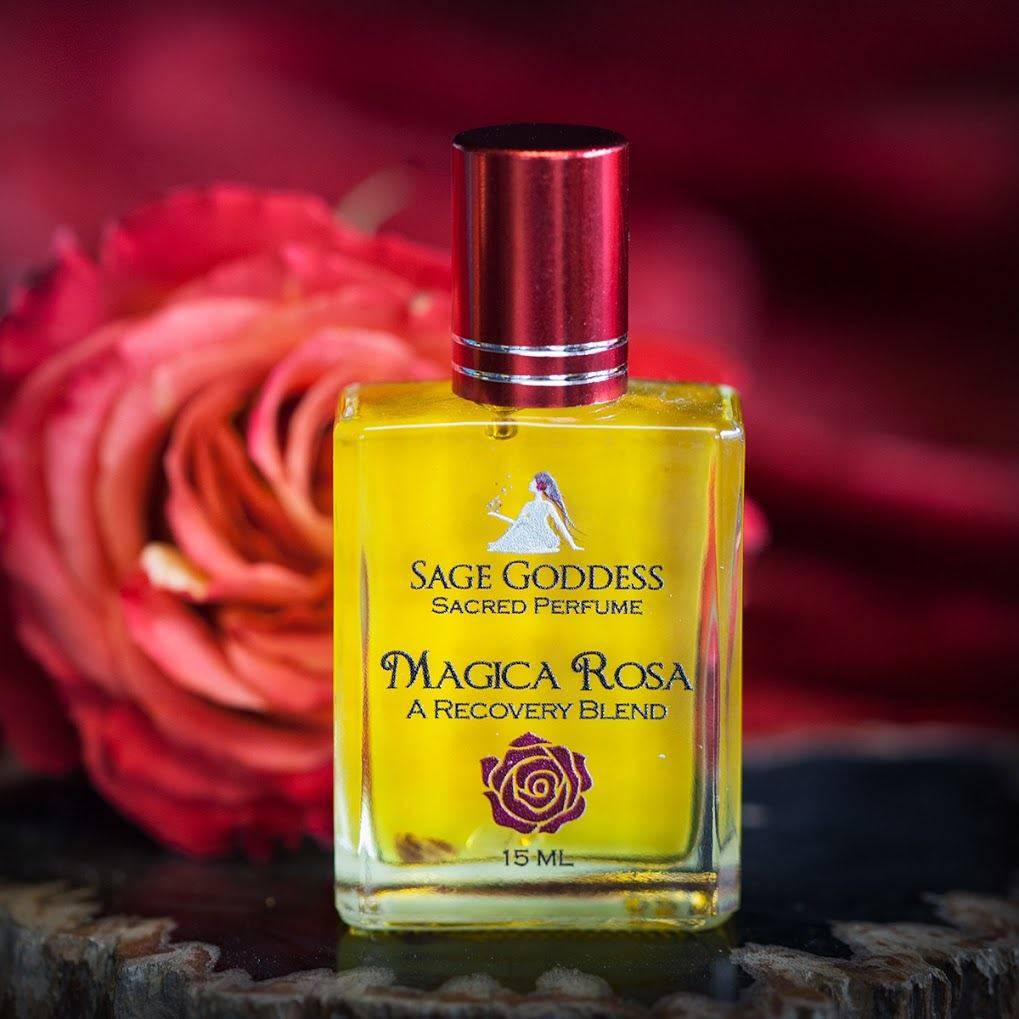 Magica Rosa Perfume for a stunning fragrance and shamanic healing