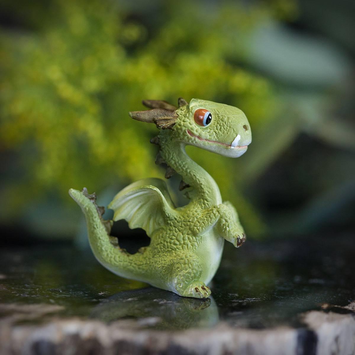 Mini Dragon Statuette Secondary