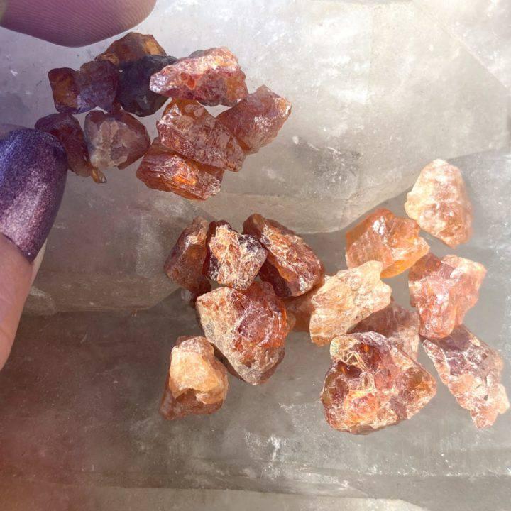 Natural Hessonite Garnet