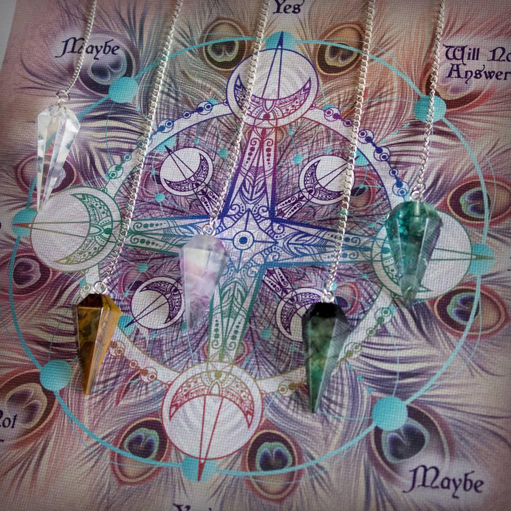 Signature Pendulum Mat & Intuitively Chosen Pendulum