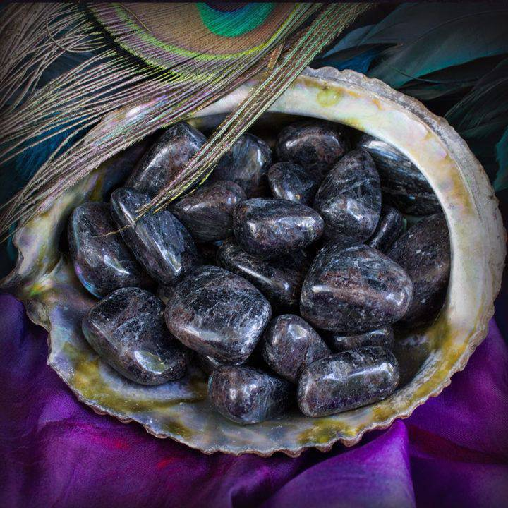 tumbled astrophyllite