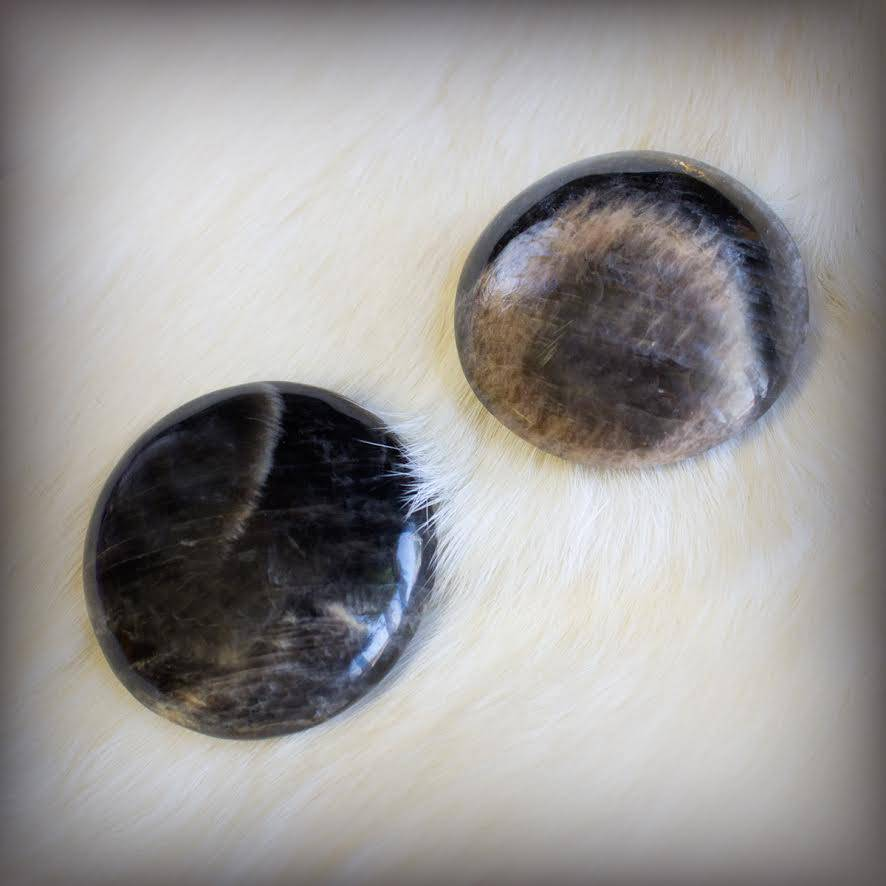 black moonstone womb stone