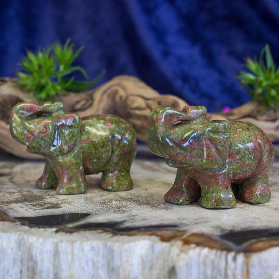 unakite elephants