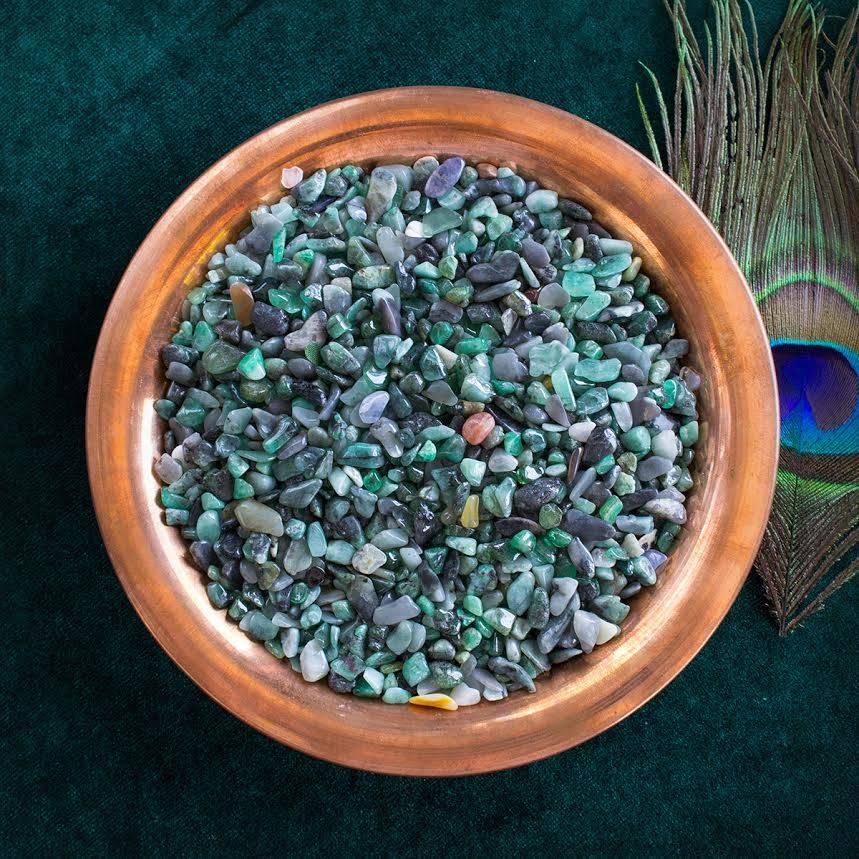 emerald chip stones