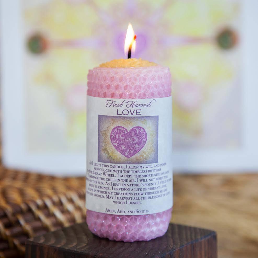 lammas candle
