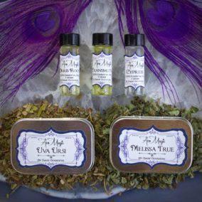 Aromagic Class- Herbs and Oils