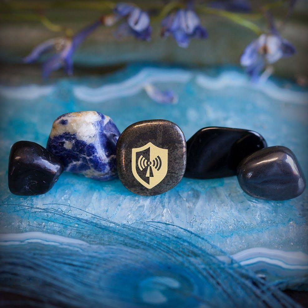 EMF Protection Stone Set 8_30 - Sage Goddess