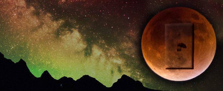 Full Moon Lunar Eclipse – The Goddess Winks