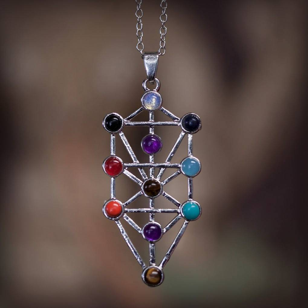 Kabbalah Tree of Life Pendants