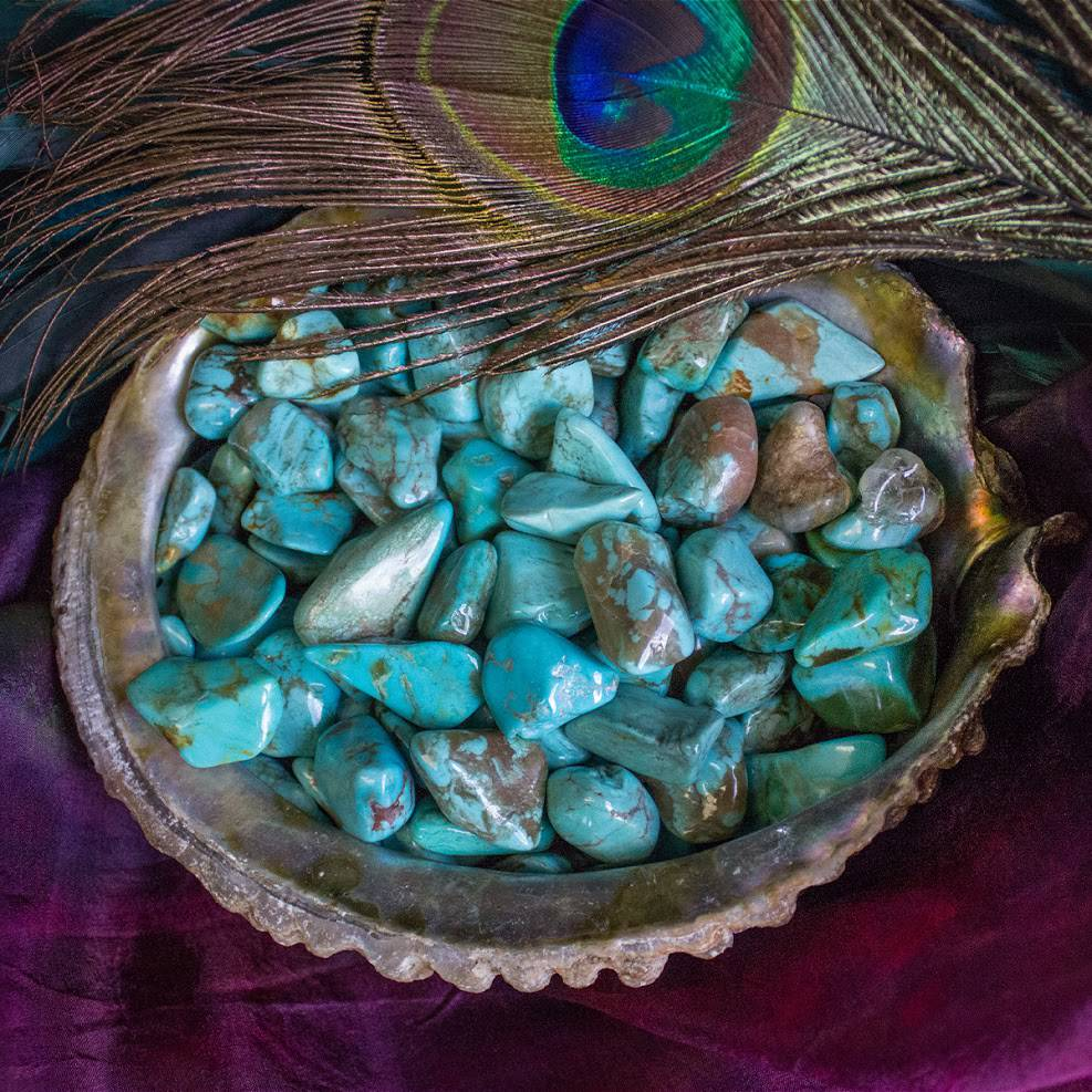 Tumbled Mexican Turquoise