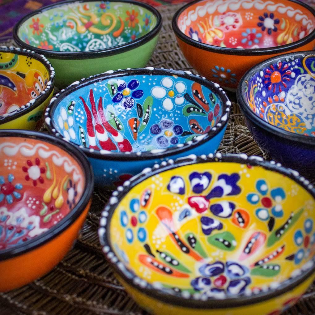 Turkish Round Altar Bowls
