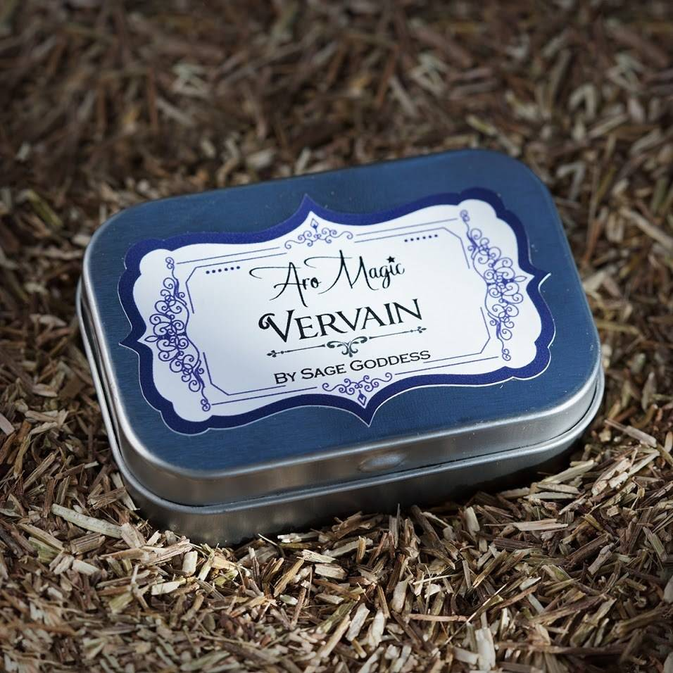 vervain herb tins