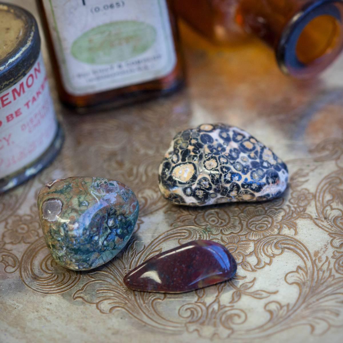 Gem Rx: SG Gemstone Prescription Trio for connecting with your ancestors