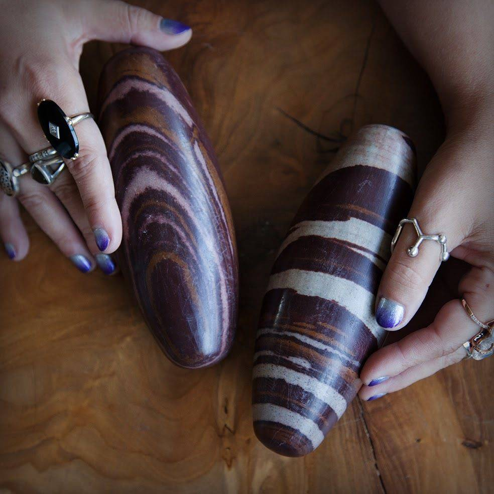 Jumbo Shiva Lingam for soulmate attraction and balancing masculine and  feminine energies