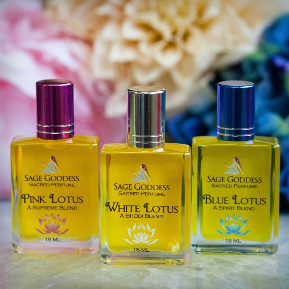 Lotus Perfume Trio