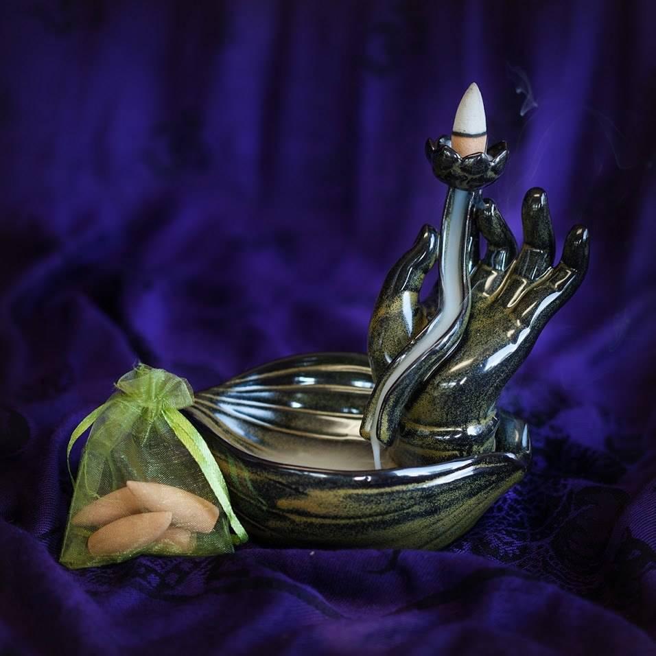 Mudra Hand Incense Burners