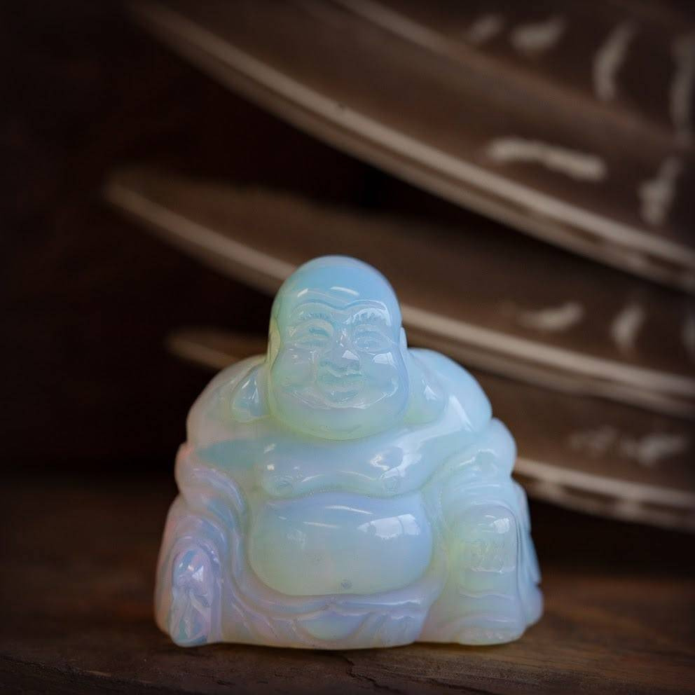 Opalite Buddha
