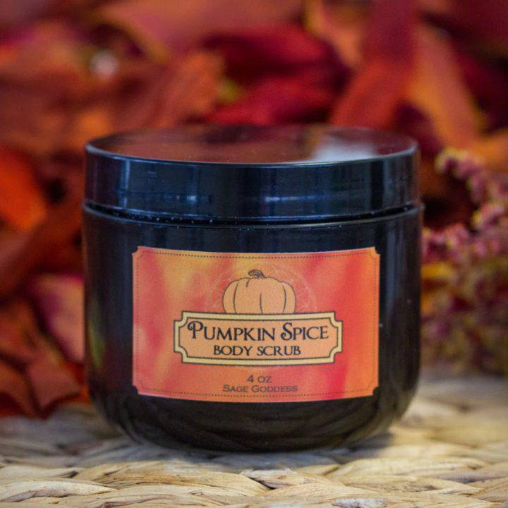 Pumpkin Spice Body Scrub