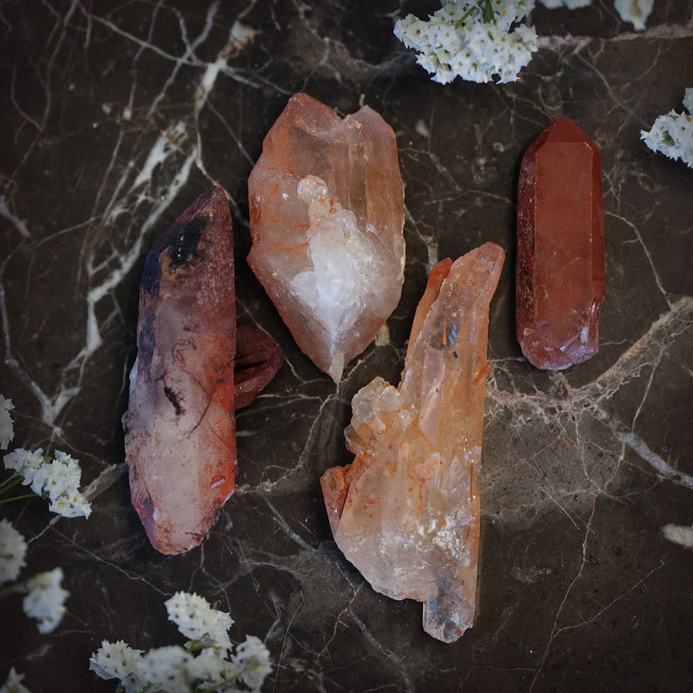 Red Ceremonial Quartz