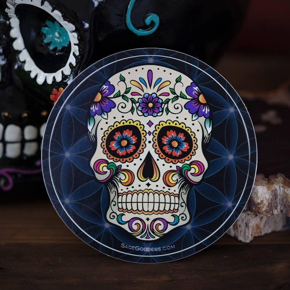 Sticker- Day of the Dead
