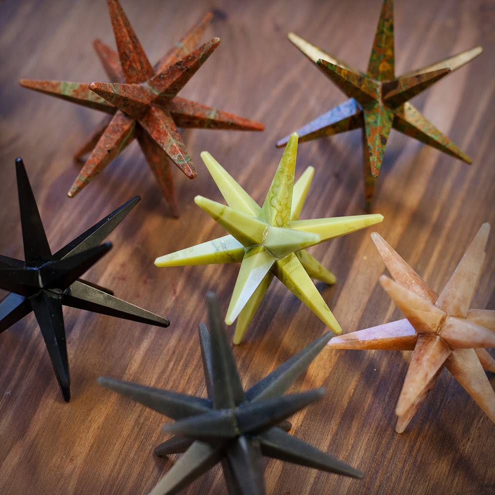 12 Pointed Gemstone Stars
