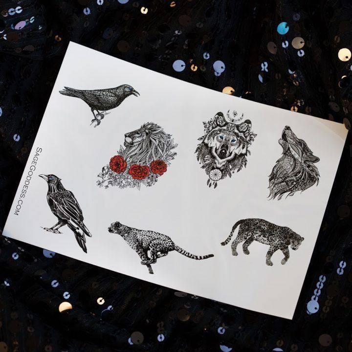 Animal Totem Tattoo