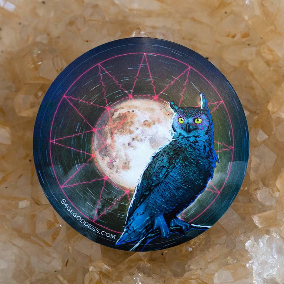 Owl Spirit Animal Sticker