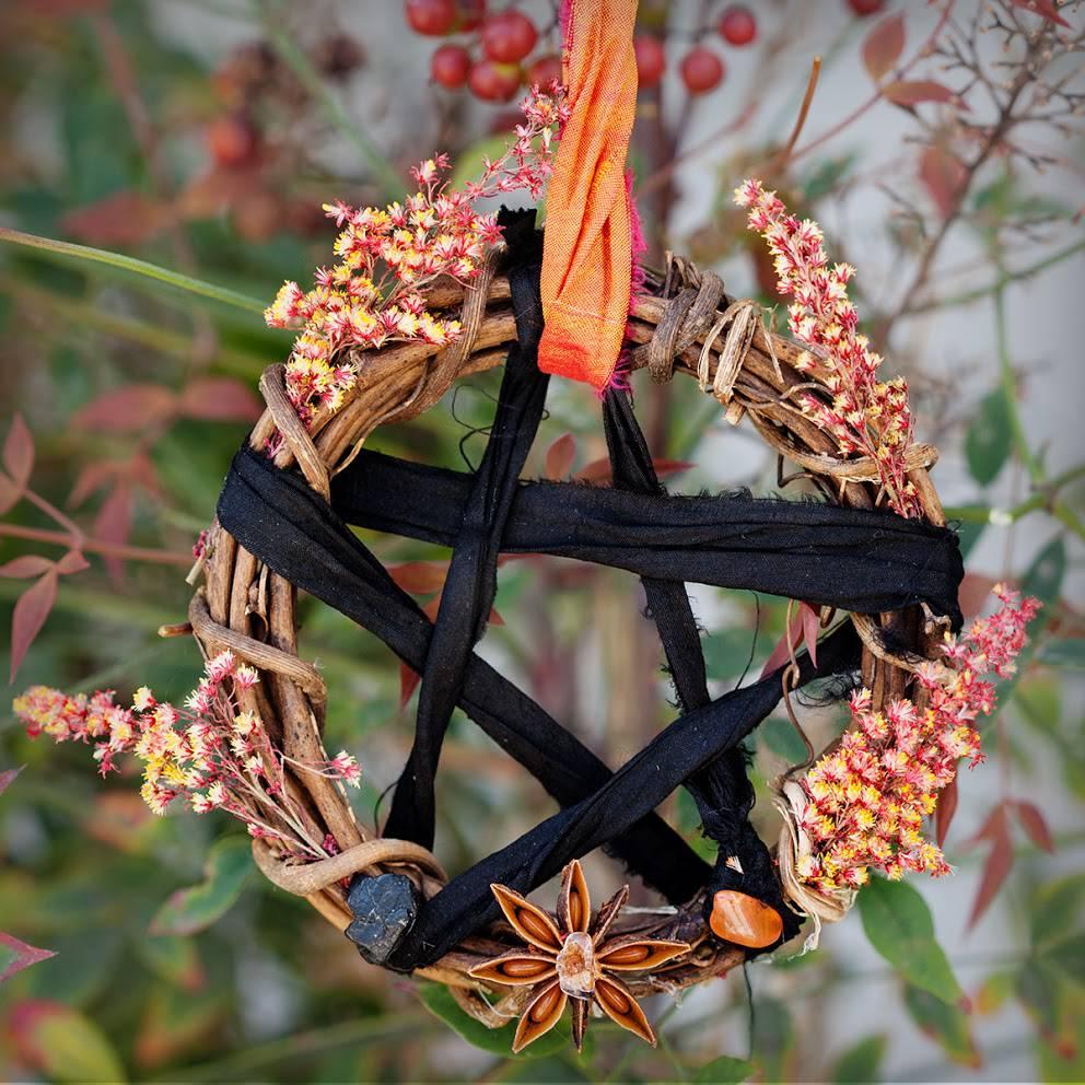 Pentacle Wreath