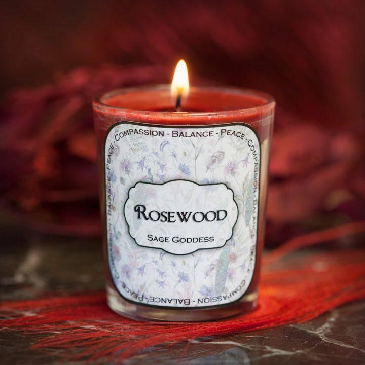 Rosewood Votive