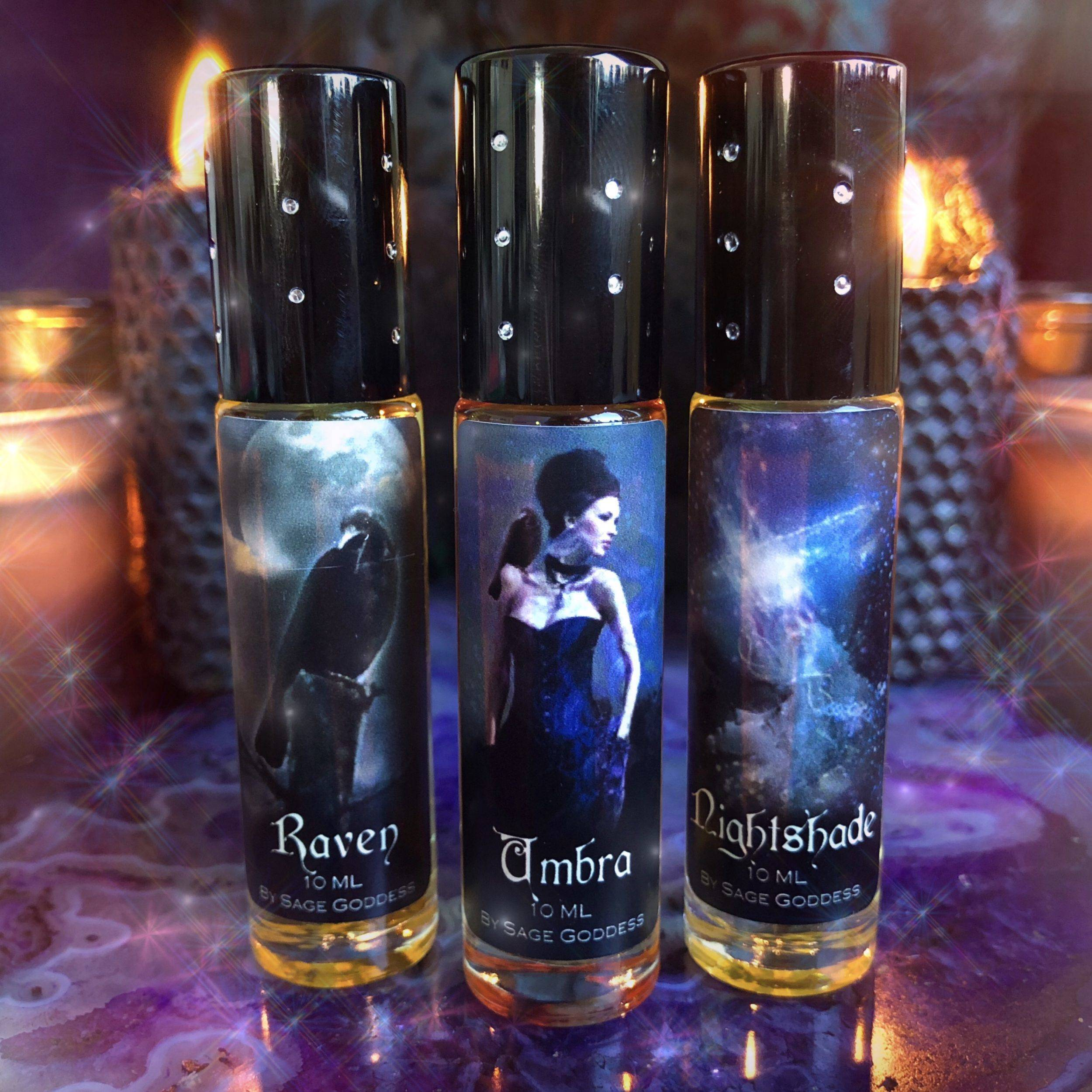 Shadow Perfume Trio to dance with your darkest aspects