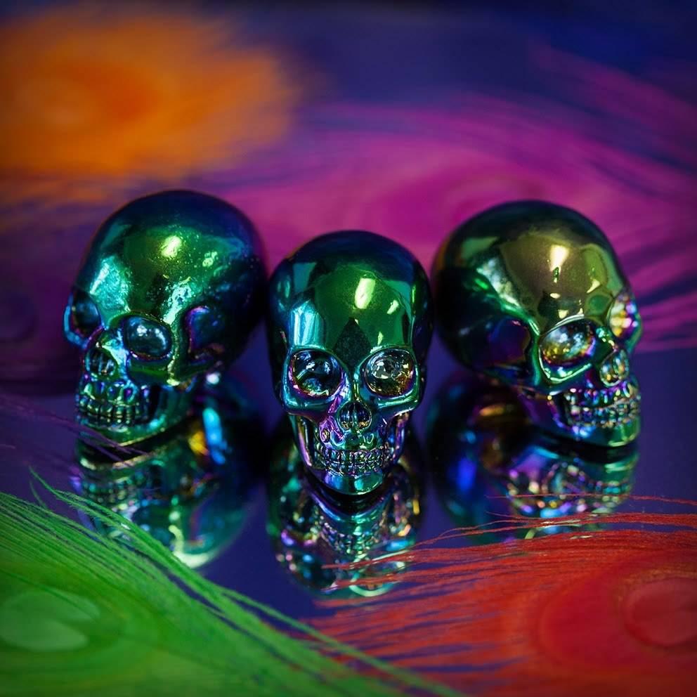 Titanium Aura Skulls