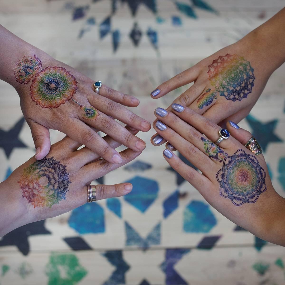 tattoo on hands