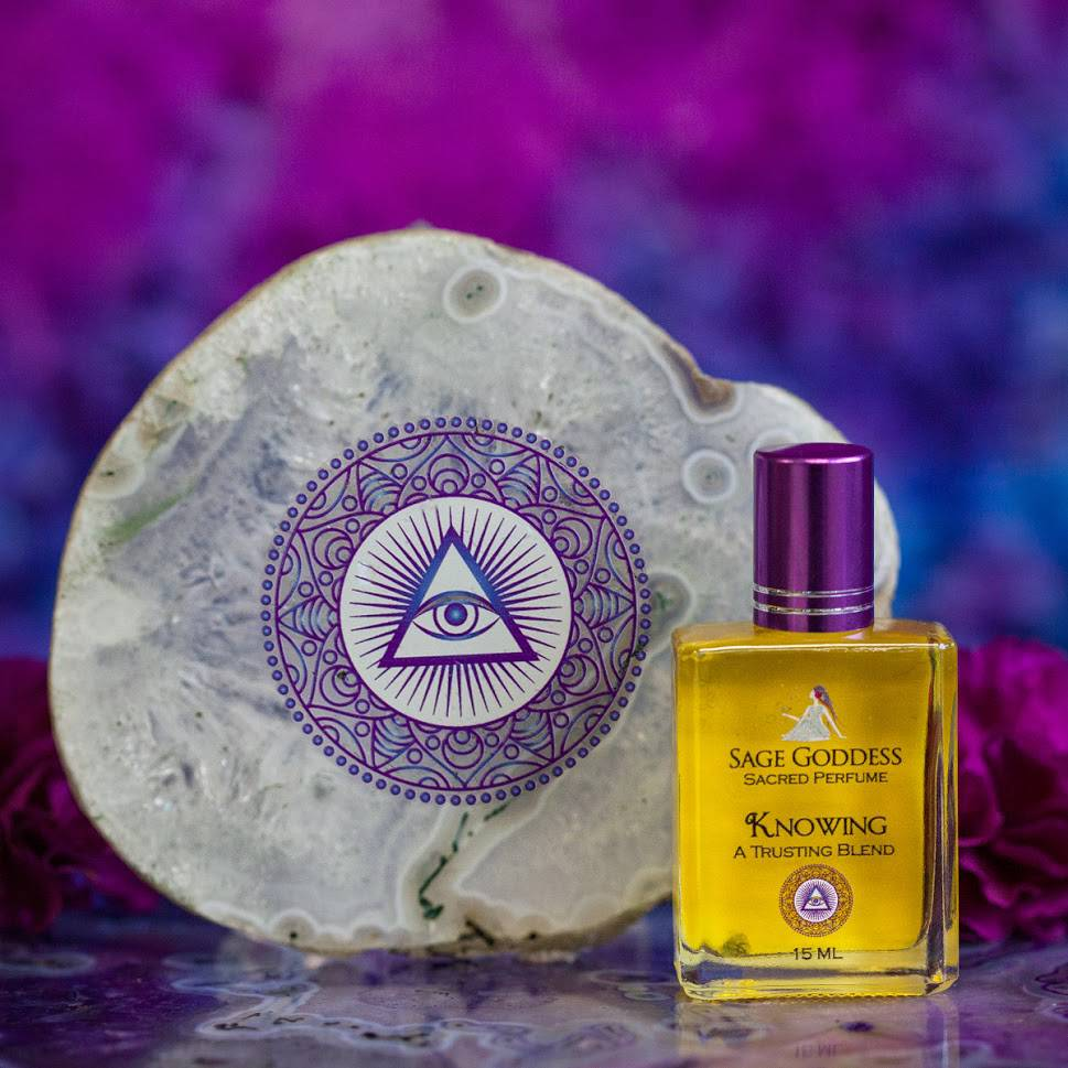Eye of Providence Plates & Knowing Perfume