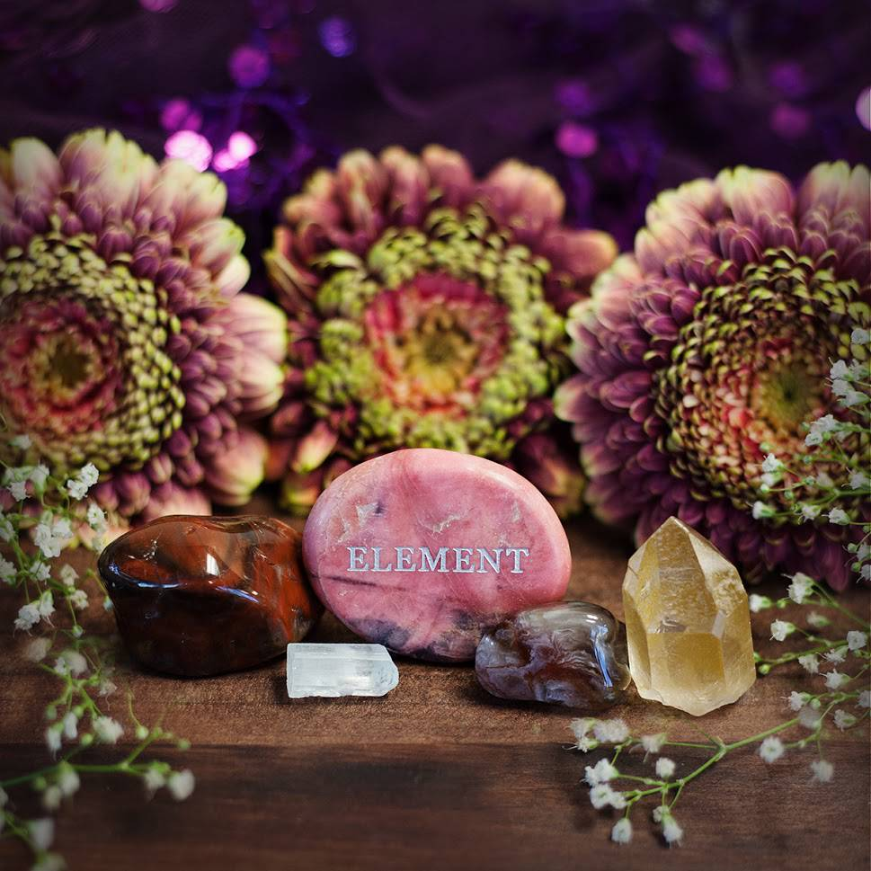 GemWise Kit- Stones Representing the 4 Elements
