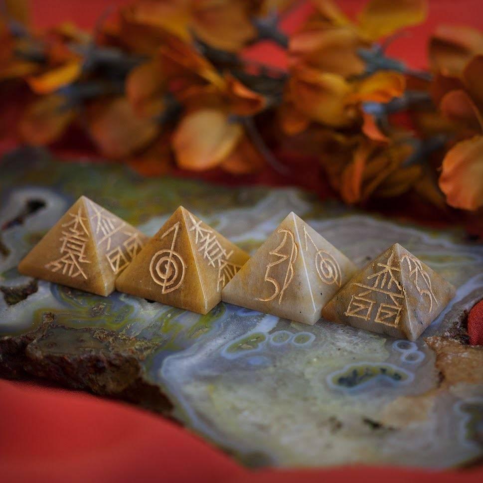 Golden Healer Reiki Pyramid