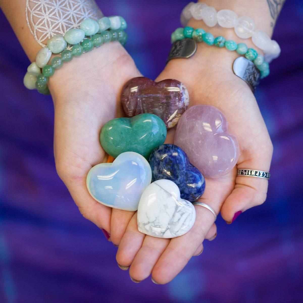Intuitively Chosen Gemstone Hearts 2_3