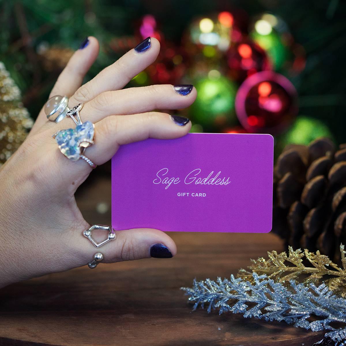 Sage Goddess Gift Cards
