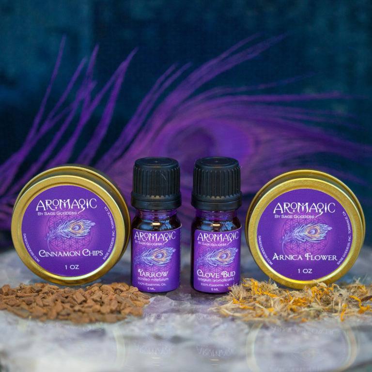 January 2018 AroMagic Set: Sweet Spirit Herbs and Oils for Balancing Masculine and Feminine Energy