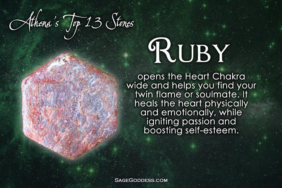 As 13- Ruby - Sage Goddess