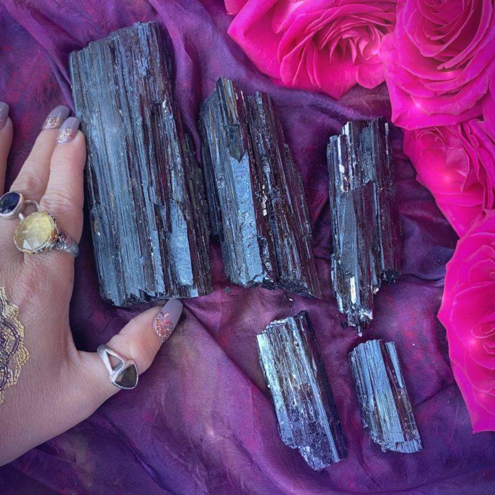 Black Tourmaline Ultimate Protection Logs