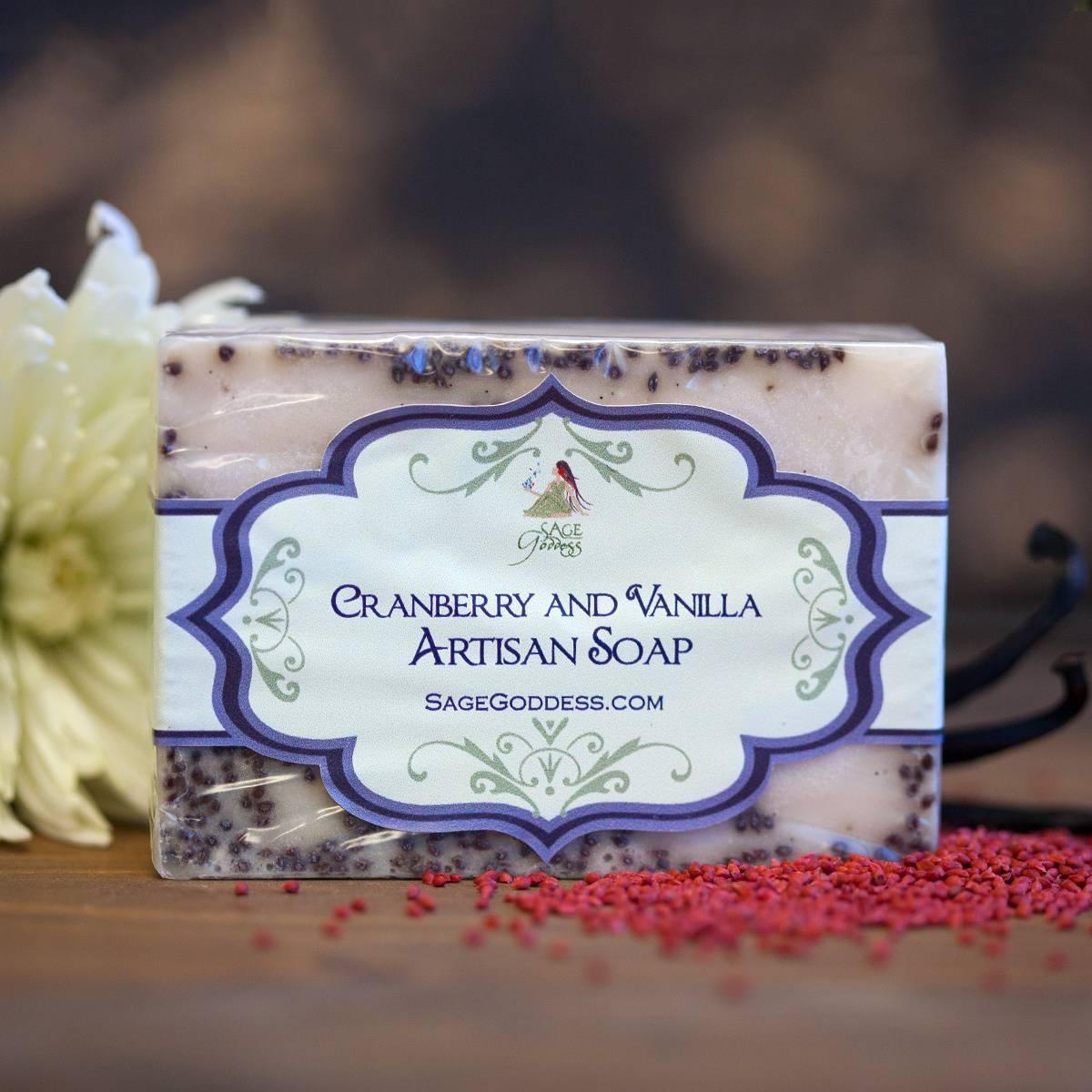 Cranberry and Vanilla Soap 12_19